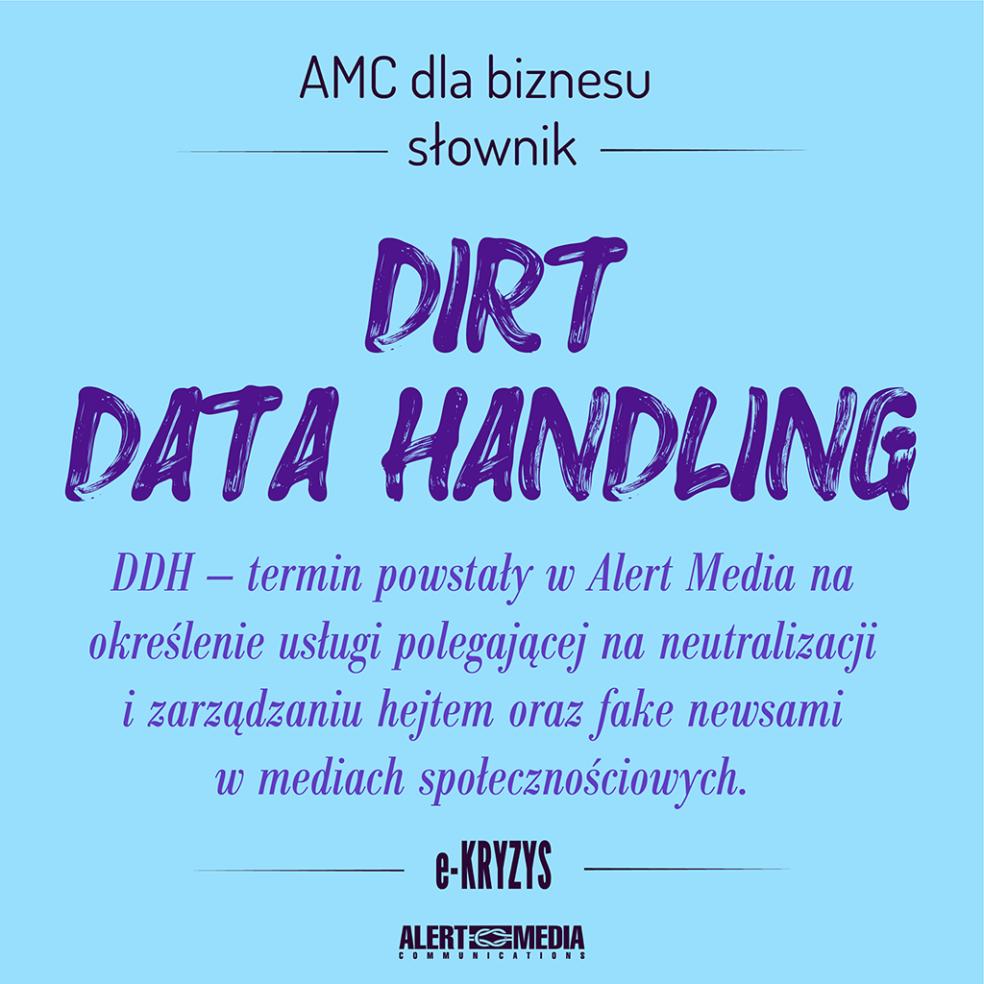 Dirt Data Handling
