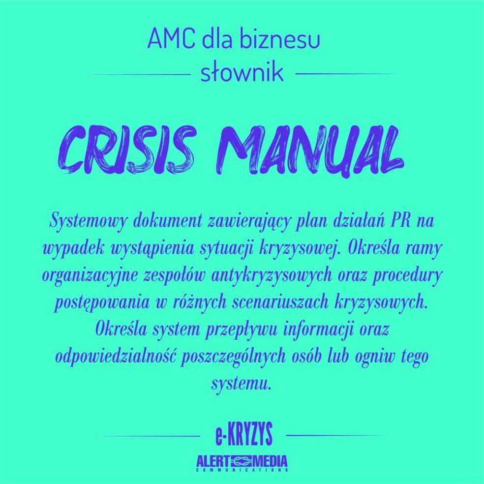Crisis Manual